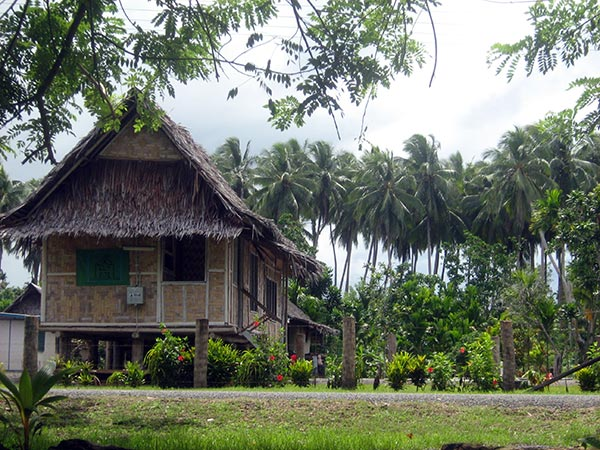 Traditional house in Matukar village